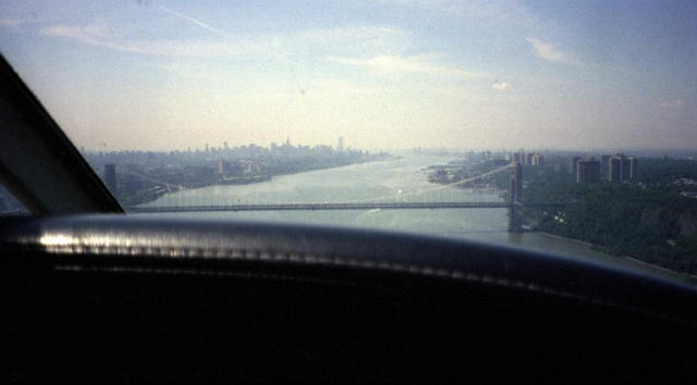 George Washington Bridge Aerial Photo
